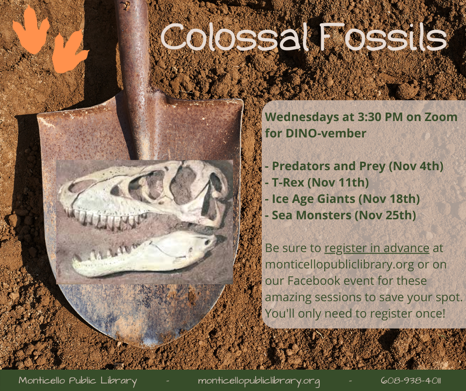 Colossal Fossils info